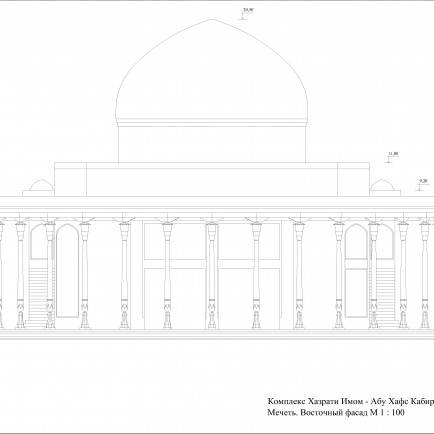 Sketch. Eastern facade.jpg