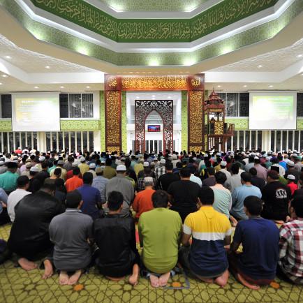 Prayer Hall Towards to Mimbar.JPG
